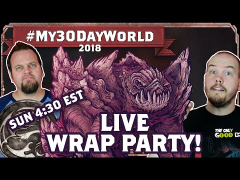 #My30DayWorld - Wrap Party and Capstone Hangout!