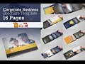 A5 Business Brochure/Catalog Brochure Template | Creative Market
