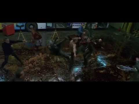 Боевая сцена # 5 - Перевозчик / 2002