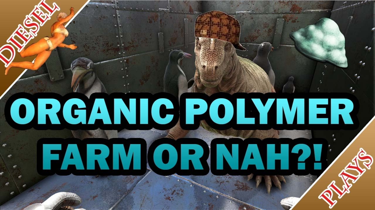 Ark Happened Organic Polymer Farm Youtube With a key emphasis on survival, you will require all the crafting materials this is similar to and can act as a substitute for standard polymer and organic polymer. ark happened organic polymer farm