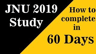 JNU MCA Information 2019 for Study