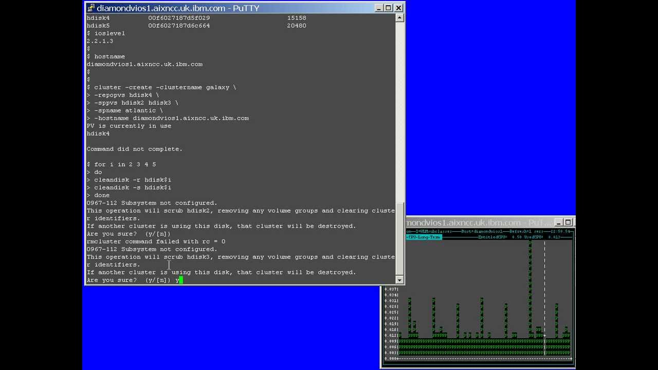 IBM AIX Tutorial - Shared Storage Pools phase 2 Getting Started ...