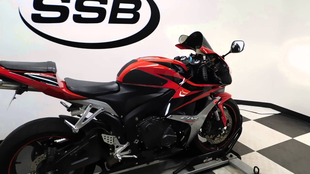 2007 Honda Cbr600rr Red Used Motorcycle For Sale Eden Prairie