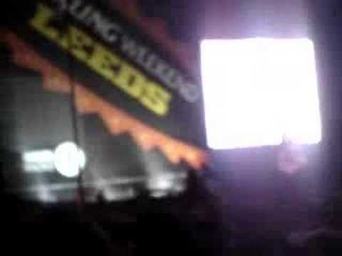 Arctic Monkeys, The View From The Afternoon - Leeds 2006
