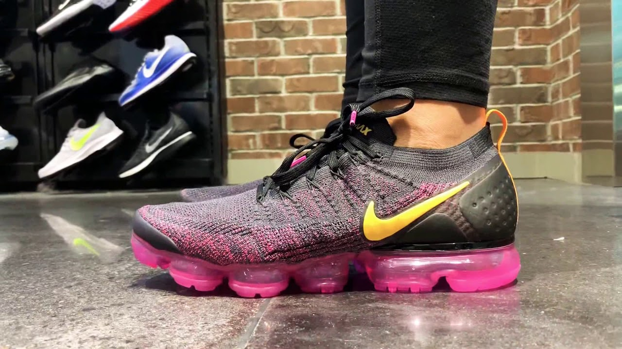 fb32c75853 Nike Air Vapormax Flyknit 2 - YouTube