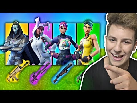 LOSOWY SKIN = LOSOWE ITEMY FORTNITE CHALLENGE! JACOB