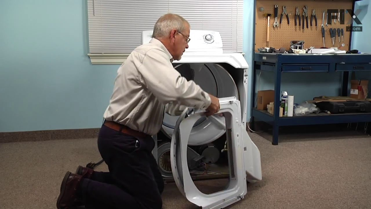Maytag Dryer Repair  U2013 How To Replace The Drum Felt Seal