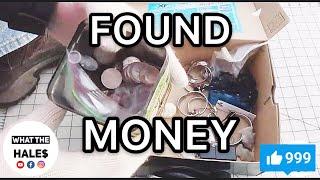 FOUND MONEY I Bought An Abandoned Storage Unit Locker / Opening Mystery Boxes Storage Wars Auction