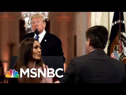 CNN Emergency Hearing After Trump Threatens Revoking Acosta Press Pass | Velshi & Ruhle | MSNBC