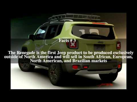 Jeep Renegade (BU) Top # 5 Facts