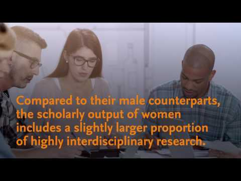 Elsevier's Gender in the Global Research Landscape Report Key Findings