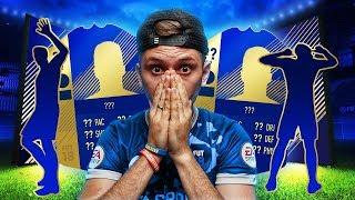 TRZY WALKOUTY - PACZKI TOTS FIFA 18