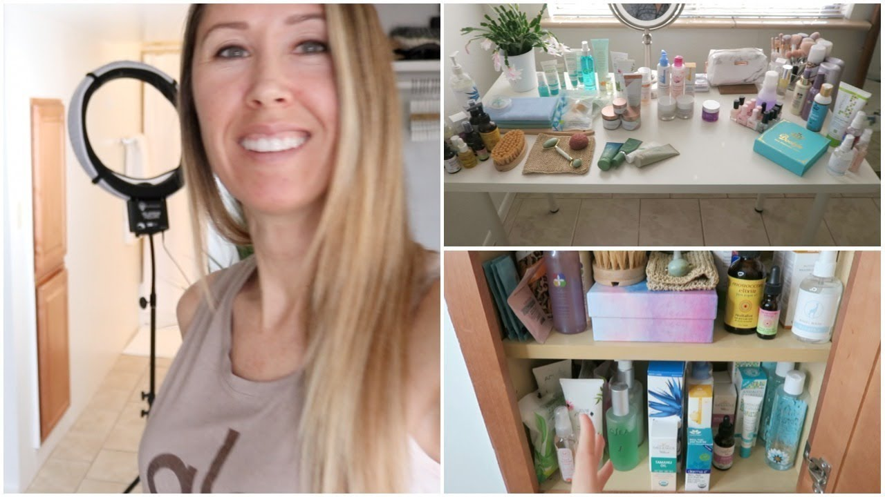 Organizing My Skincare Beauty Products Collection Youtube