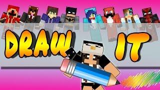 ZO ISSIE BEST LEUK HOOR! - Minecraft DRAW IT