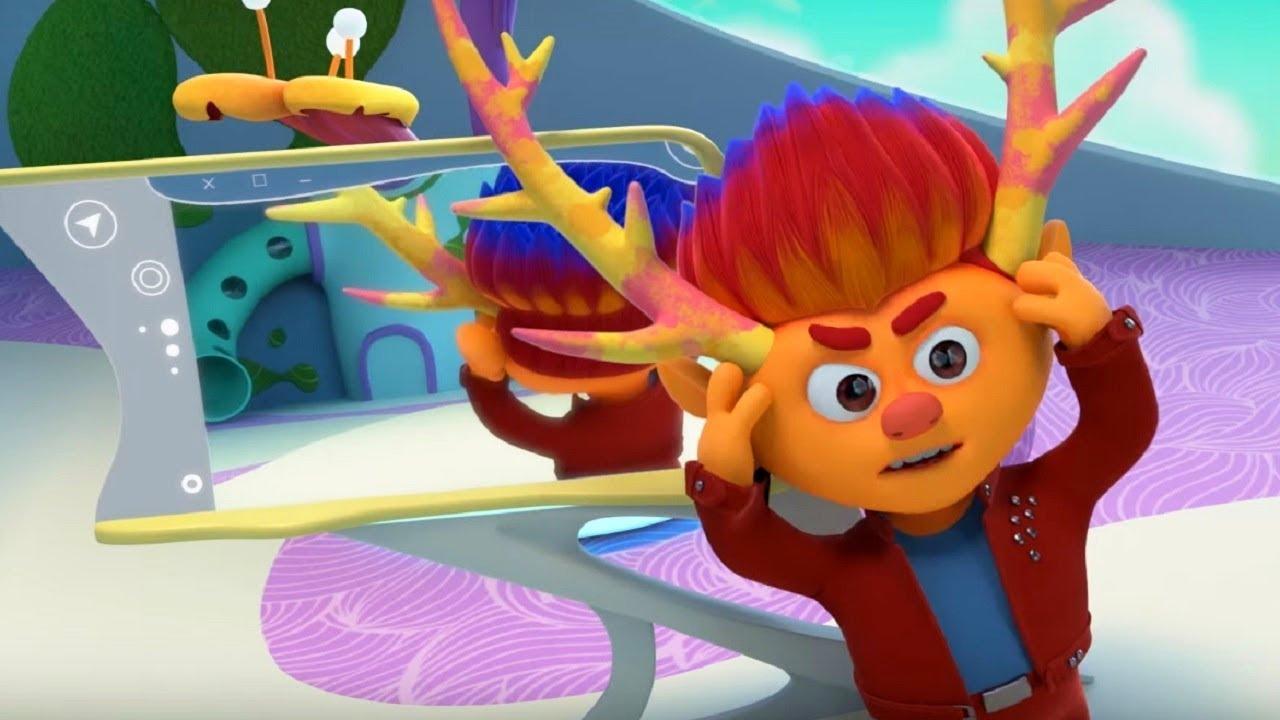 Успокойся, спаси мир! – Монсики – мультфильм для детей – чувства и эмоции