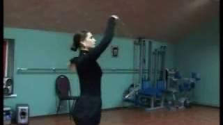 Танец Лезгинка. Обучающий ролик для девушек.Часть 1.
