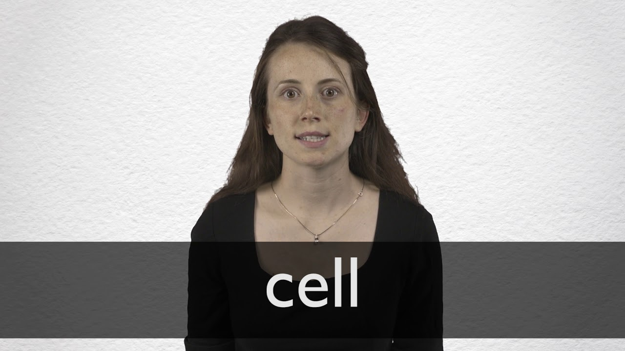 How to pronounce CELL in British English