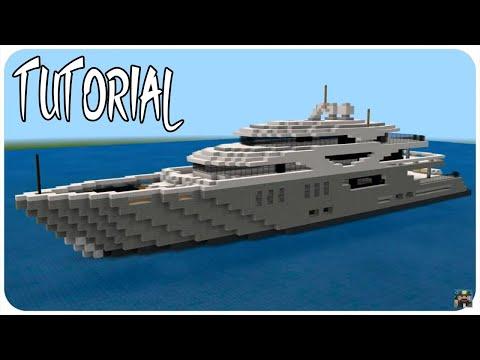 Minecraft: Super Yacht Tutorial Part 1