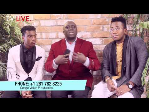 Pastor Alimasi Toto LIVE Interview & Congo Vision Production TV