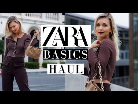 ZARA BASICS HAUL- FINAL WINTER SALE + ANA LUISA JEWELRY