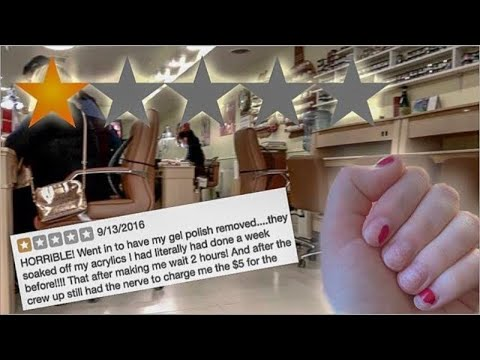 I Went To The WORST RATED Nail Salon In My City - NYC (1 STAR) 😭😵