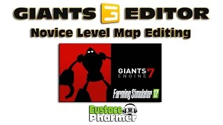Giants Editor-Entry Level Map Edit Tutorial