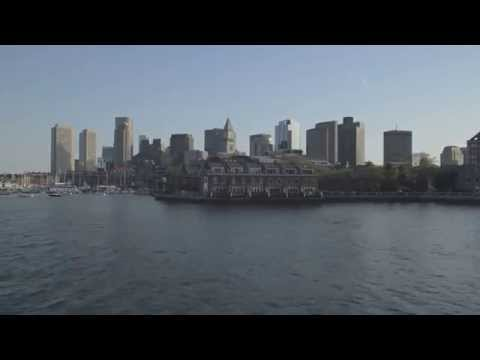 Harbor View Of Boston Skyline