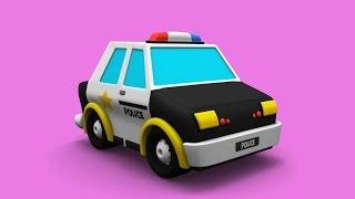 a rendőrség játékautó videók |  jármű videók gyerekeknek |  jármű játékok