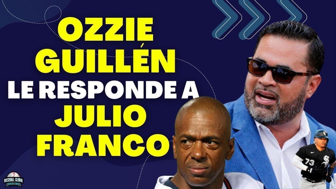 Ozzie Guillén le entra con todo a Julio Franco Por caso Yermin.