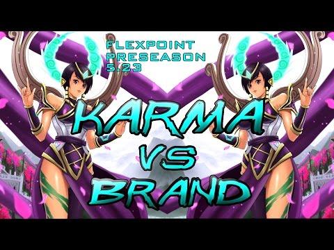 [Season 6] Karma Vs. Brand  | Patch 5.24 | Full Commentary