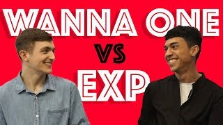 Wanna One vs EXP EDITION: Foreigners react S01E05
