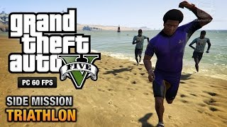 GTA 5 PC - Triathlons [Gold Medal Walkthrough]
