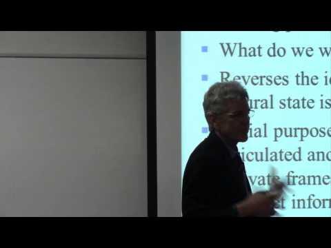 Framing Modern Monetary Theory - Professor Bill Mitchell