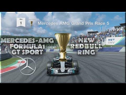 NEW REDBULL RING FORMULA1 GT Sport (MERCEDES AMG-F1 LEWIS HAMILTON)