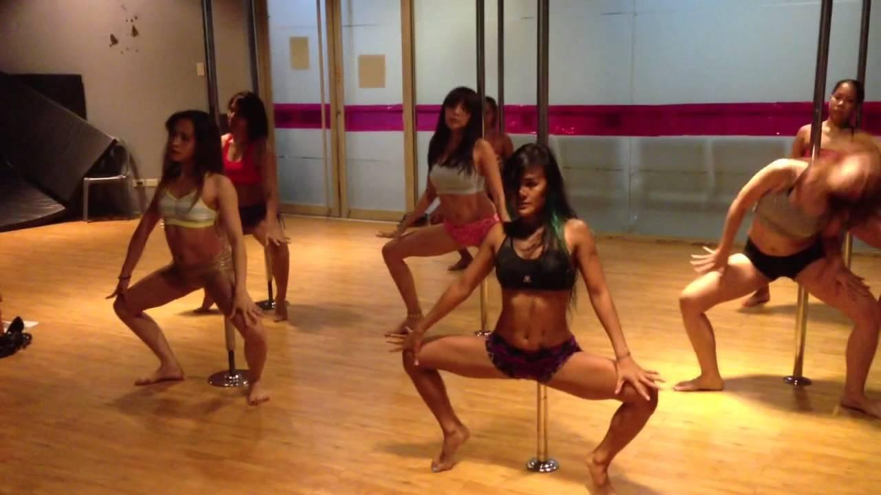 Naughty Girl - Beyoncé Pole Dance - YouTube