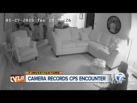 Download Youtube: Camera records CPS encounter