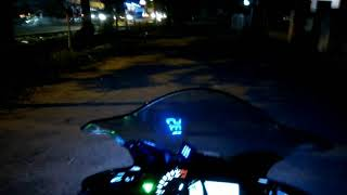 Custom projector and led drl flexible for yamaha R 25