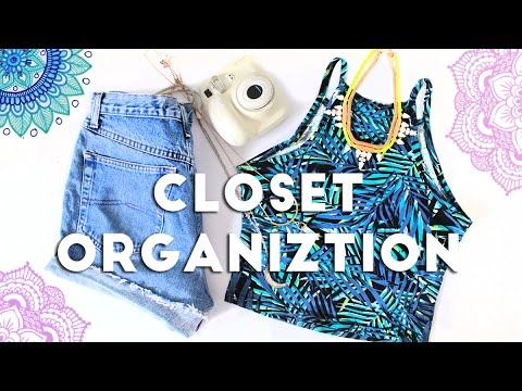 how to clean and organize your closet | life hacks 2016 - youtube