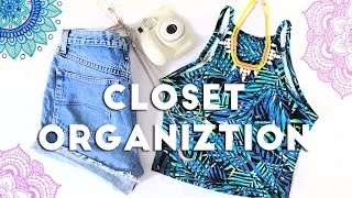 How To Clean and Organize your Closet | Life Hacks 2016