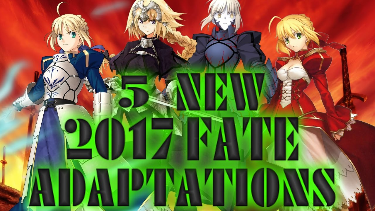 5 EPIC NEW FATE ANIME COMING 2017