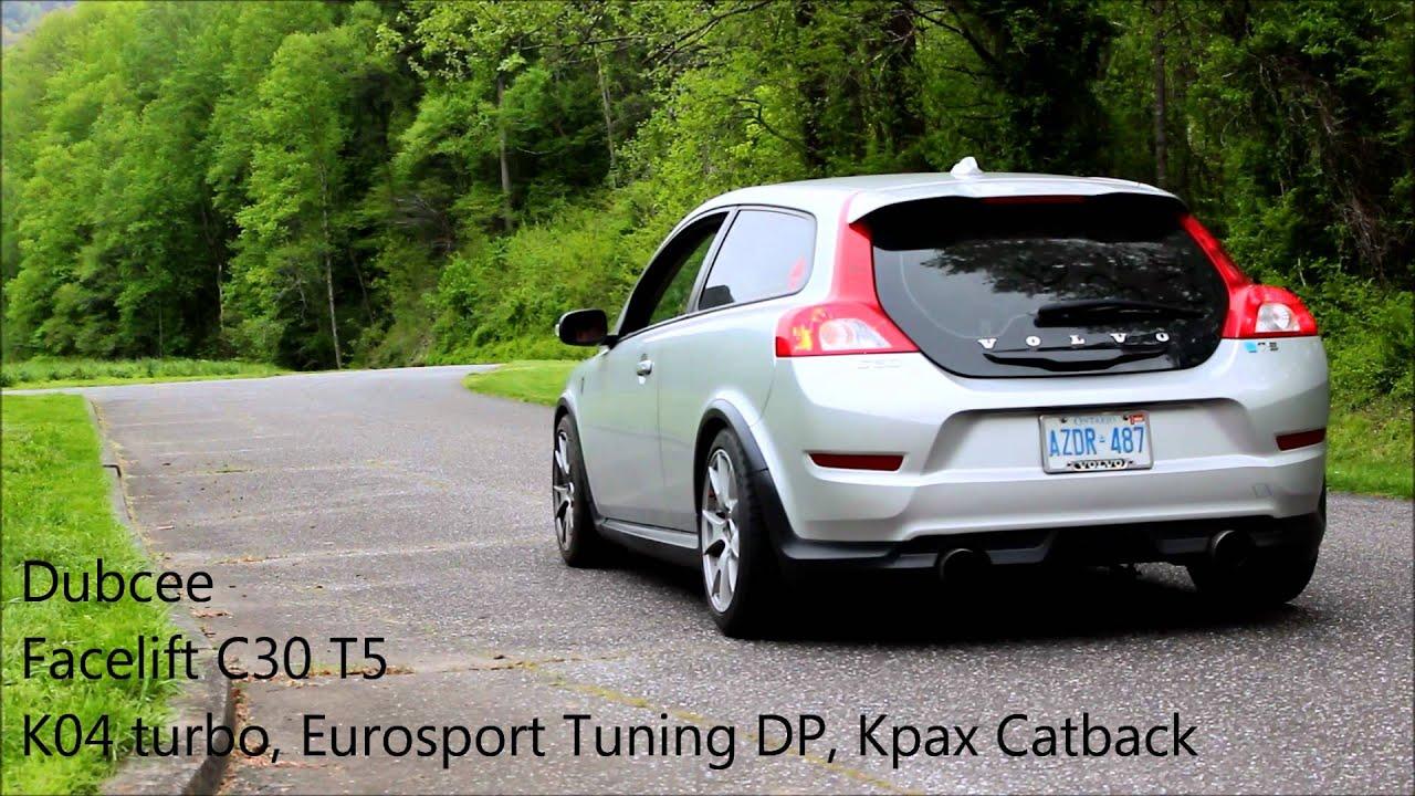 volvo c30 k04 turbo eurosport tuning dp kpax catback. Black Bedroom Furniture Sets. Home Design Ideas