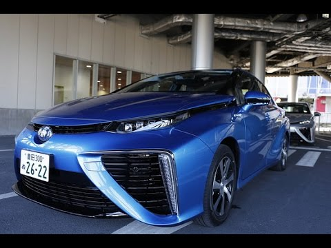 Toyota's Hydrogen Car: A Test Drive