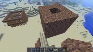 Automatic and Semi-Auto Iron Golem Farm Minecraft Tutorial (Works in 1.8)