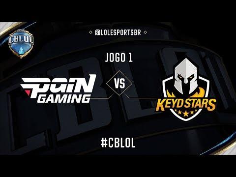 paiN Gaming x Keyd Stars (Jogo 1 - Semana 6 - Dia 1) - CBLoL 2017