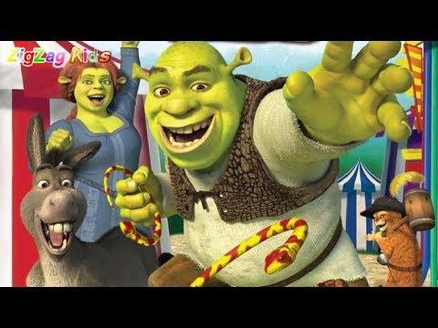 Shrek Carnival Craze  3 Blind Mice Midway  Episode 4  ZigZag Kids HD