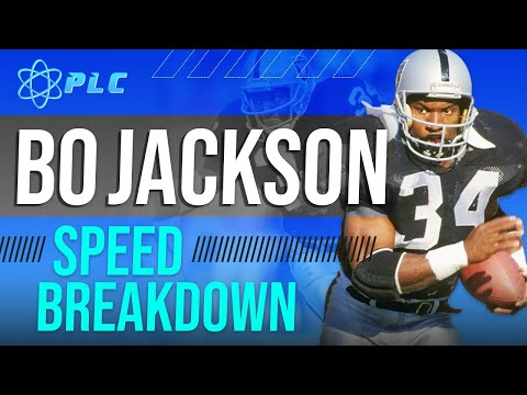 Bo Jackson Speed Breakdown | Arguably The Greatest Athlete Of All Time!!