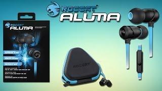 Roccat Aluma Обзор. Стильные вкладыши с сочным басом