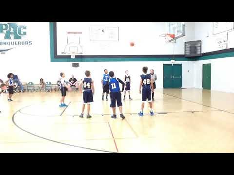 Viera Charter School  Panthers VS Holy Trinity School Tigers 1st Qtr