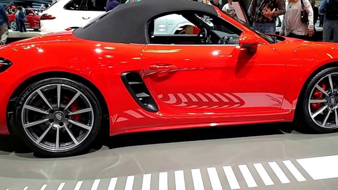 2018 porsche 718 spyder. Delighful Porsche Convertible 2018 Porsche New Boxster 718 Sport Throughout Porsche Spyder