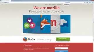 Bookmarking using Firefox